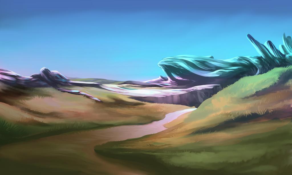 Speed Paint Bg by Soreiya