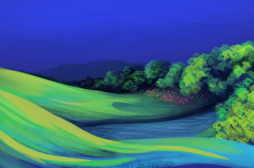 Background speedpaint 2 by Soreiya