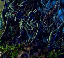 Blend into darkness by Soreiya