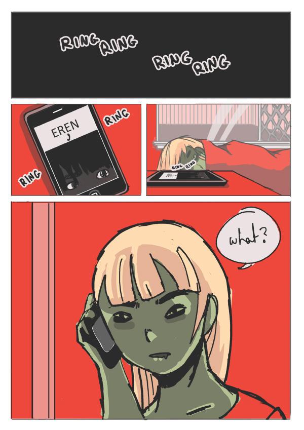 Zombie Saga Page 1