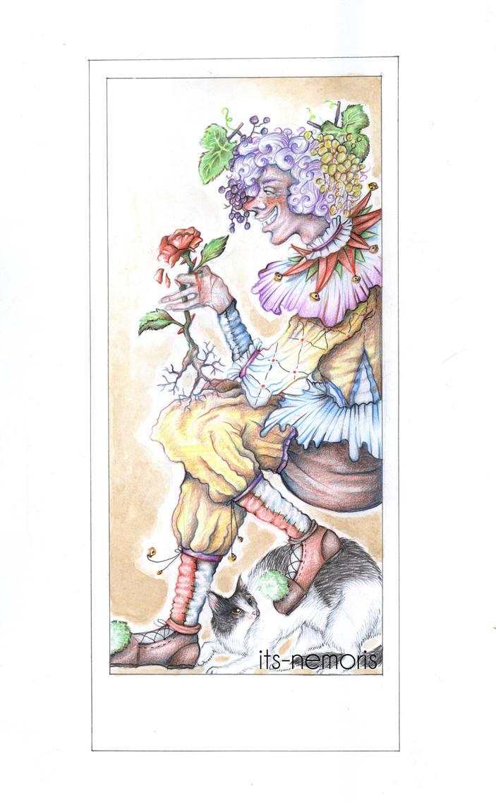 The Fool - Card 0 by its-nemoris