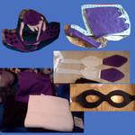 Inkling costume, hat/mask