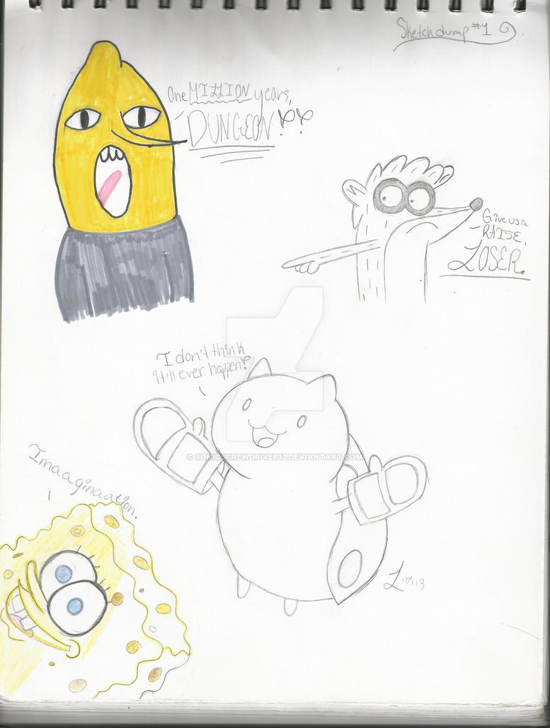 Sketch Dump.1 by Sonicscrewdriver12