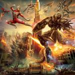 Giant-robot-battle