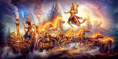 Mahabarata by dezygn