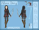 [DGM] Helena Darcy reference sheet
