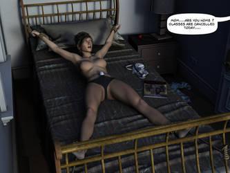 Self Bondage gone wrong by deviant3D