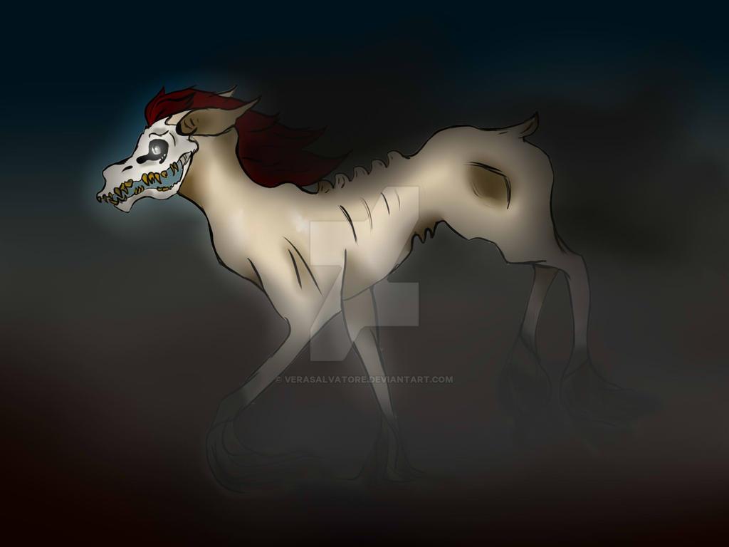 Runing in shadow by VeraSalvatore