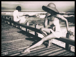 Afternoon at the Pier by RobF4