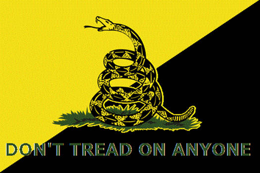 Don't Tread On Anyone!