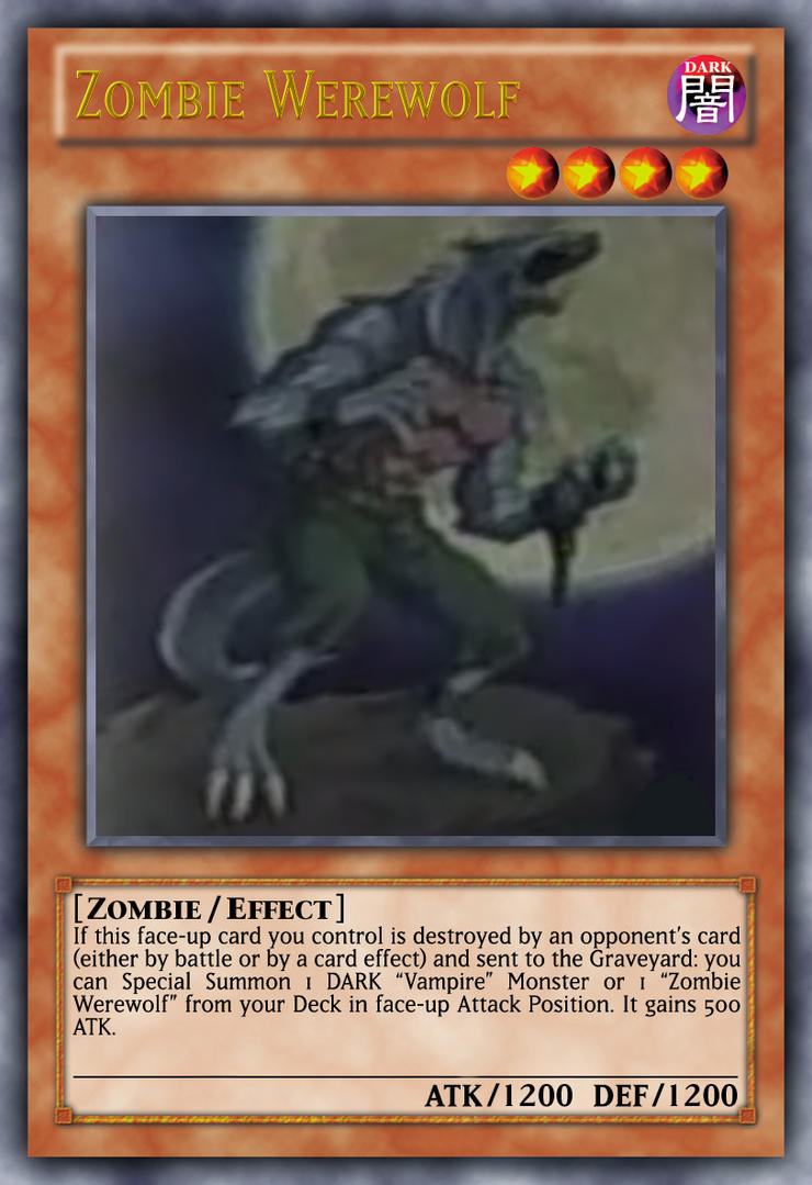 zombie werewolf by genmanoou on deviantart