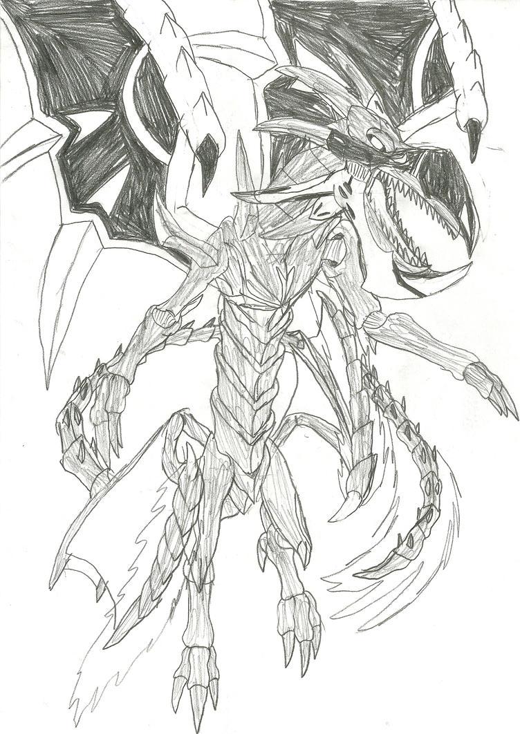 Malefic Red-Eyes Black Flare Dragon by GenmaNoOu on DeviantArt