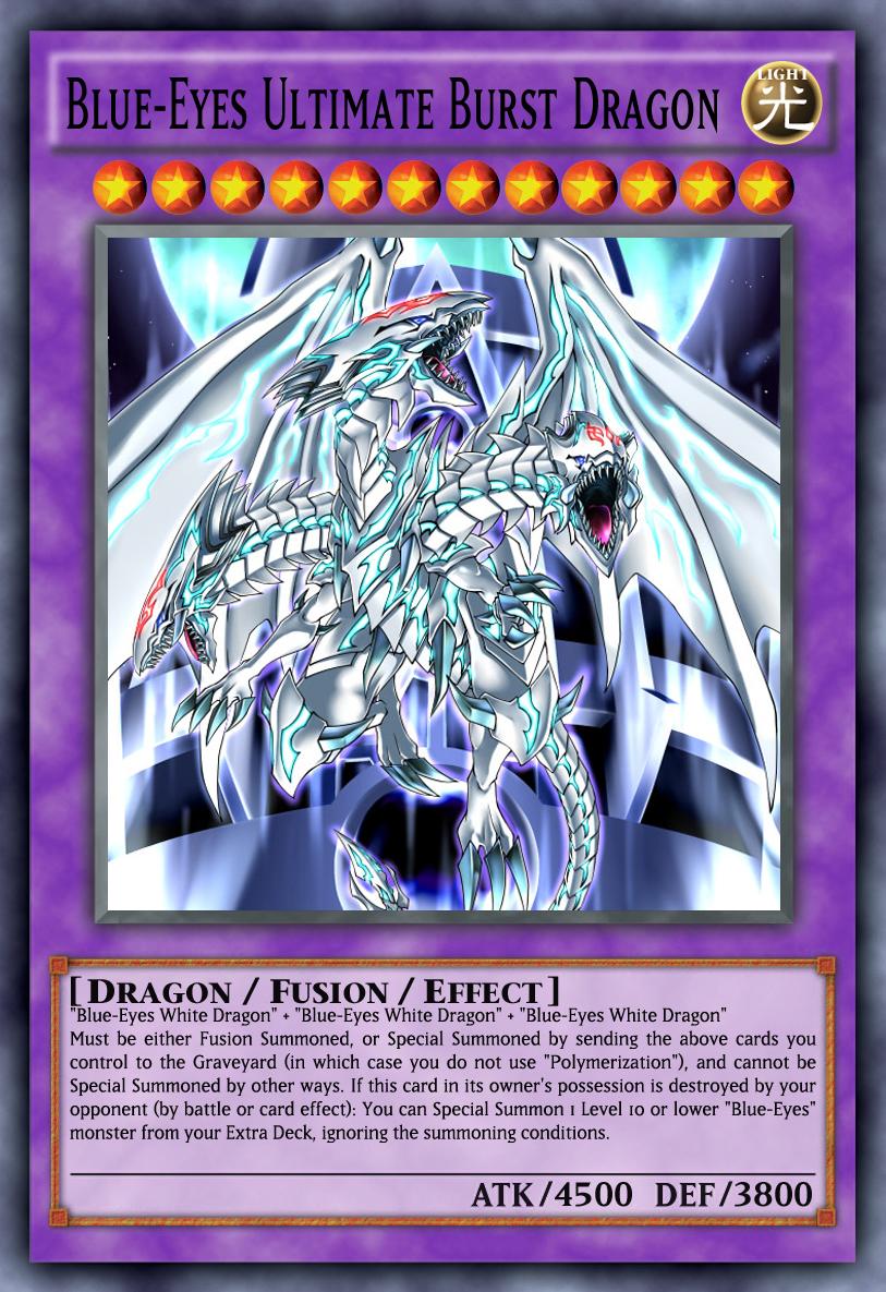 Blue Eyes Ultimate Burst Dragon By Genmanoou On Deviantart