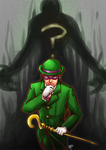 Who riddles the Riddler?
