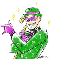 In the name of the Riddler by Meinarch