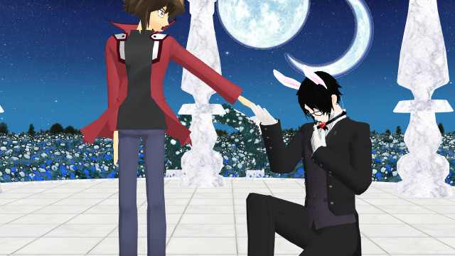 Jaden and Sebastian by YukoFudo