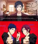 Rei and Rin's mpreg child by YukoFudo