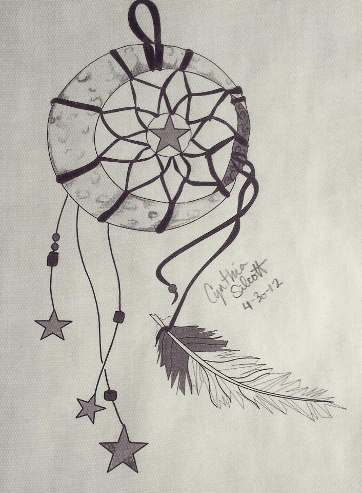 Dreamcatcher tattoo design by cyndisilcott on deviantart dreamcatcher tattoo design by cyndisilcott pronofoot35fo Choice Image