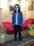 Cosplaying Sans by Galandrielle