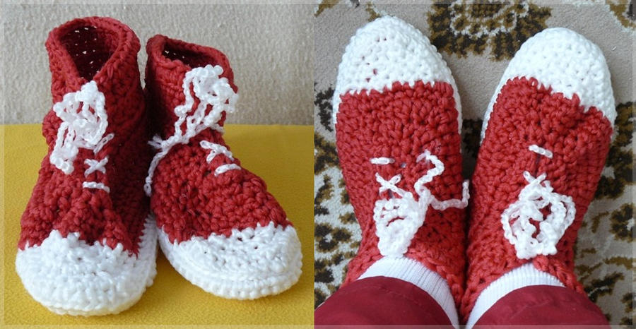 Converse slippers by ilwin