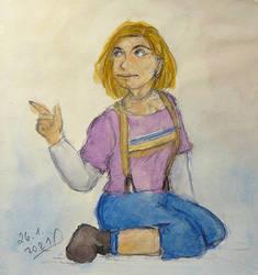 Watercolour Sketch 13 by ilwin