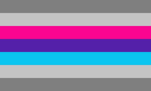 Demiandrogyne Pride Flag (proposal)