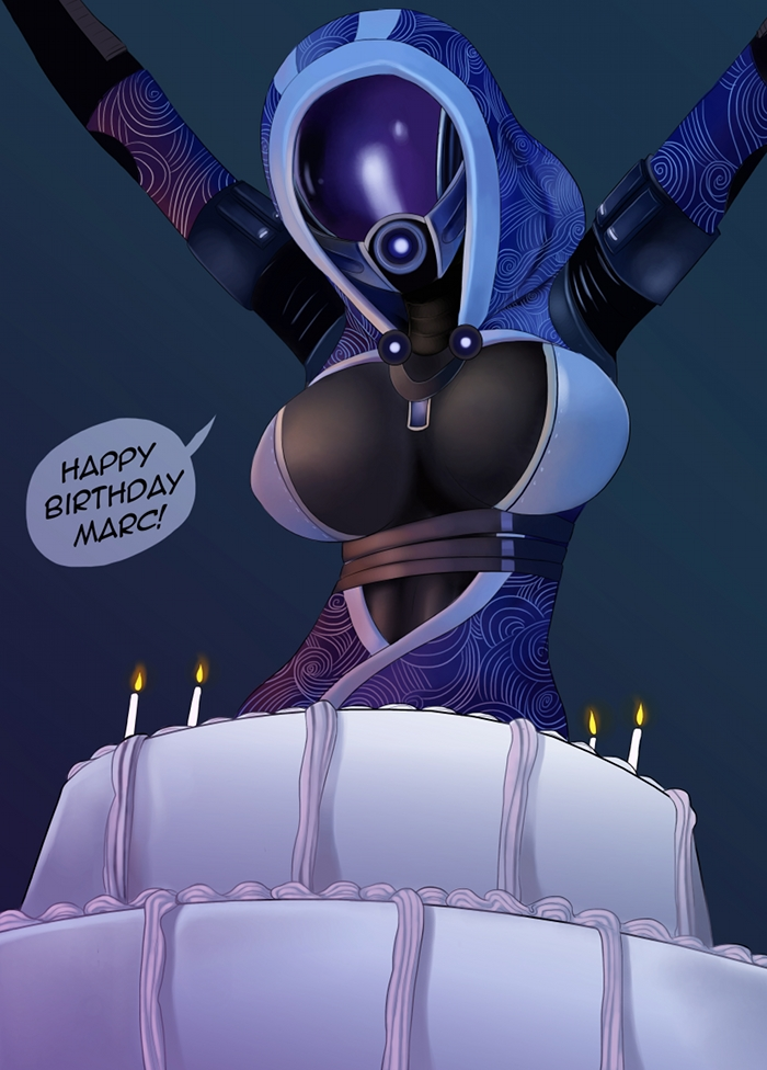 Tali'zorah by MissNips