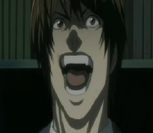 death note light laugh -#main