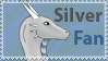 Silver Fan Stamp by Arlunwyr