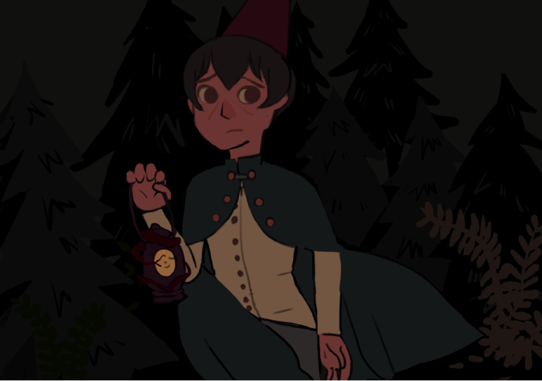 over the garden wall base by popopolice
