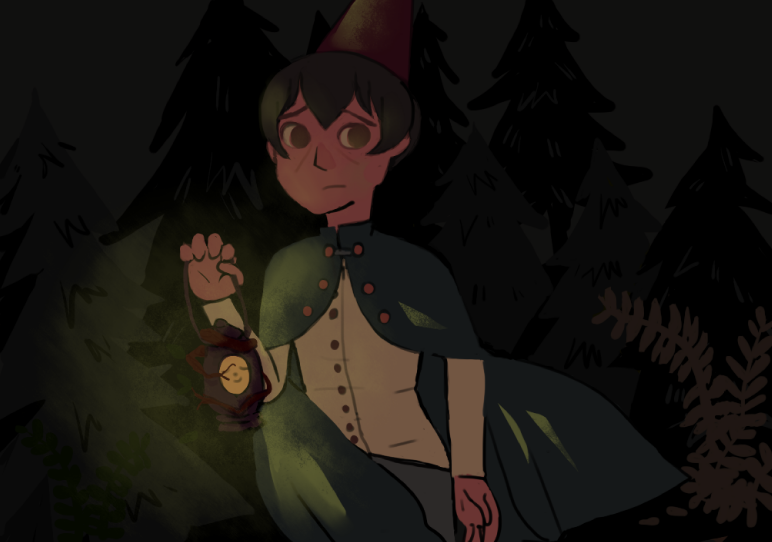 over the garden wall w lighting by popopolice