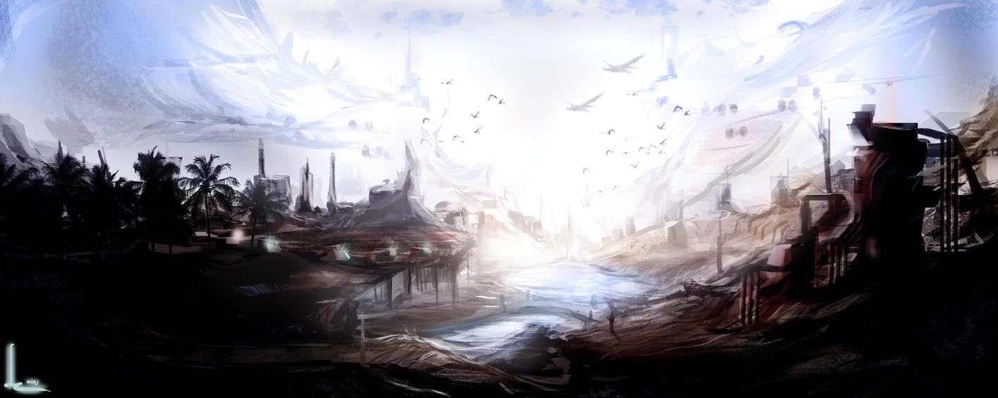 Winter's Reach by KevsanLevsan