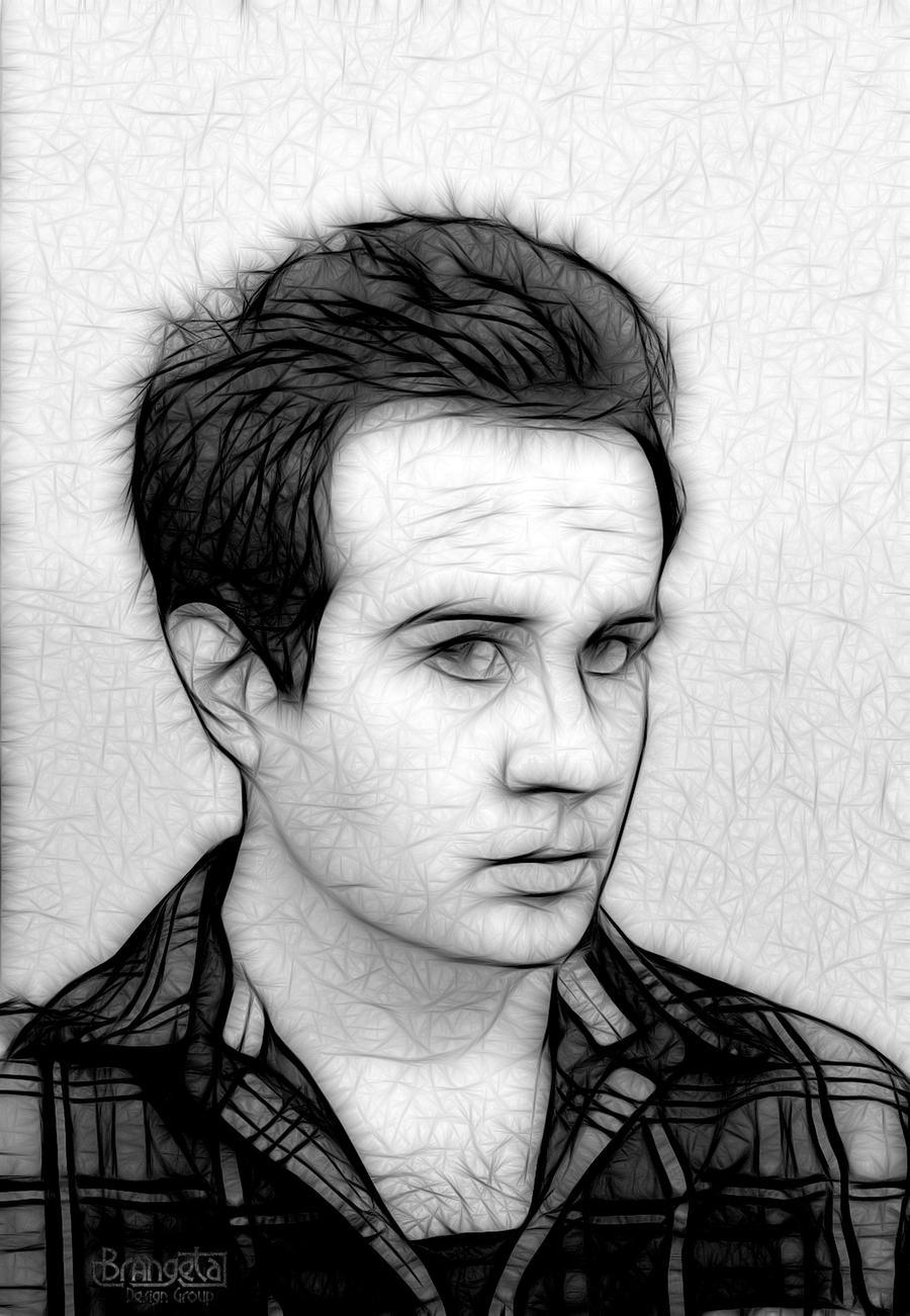Brandon self portrait version 2 by Brangeta