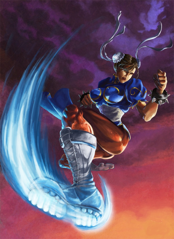 The legendary Chun Li by TellTaleTail