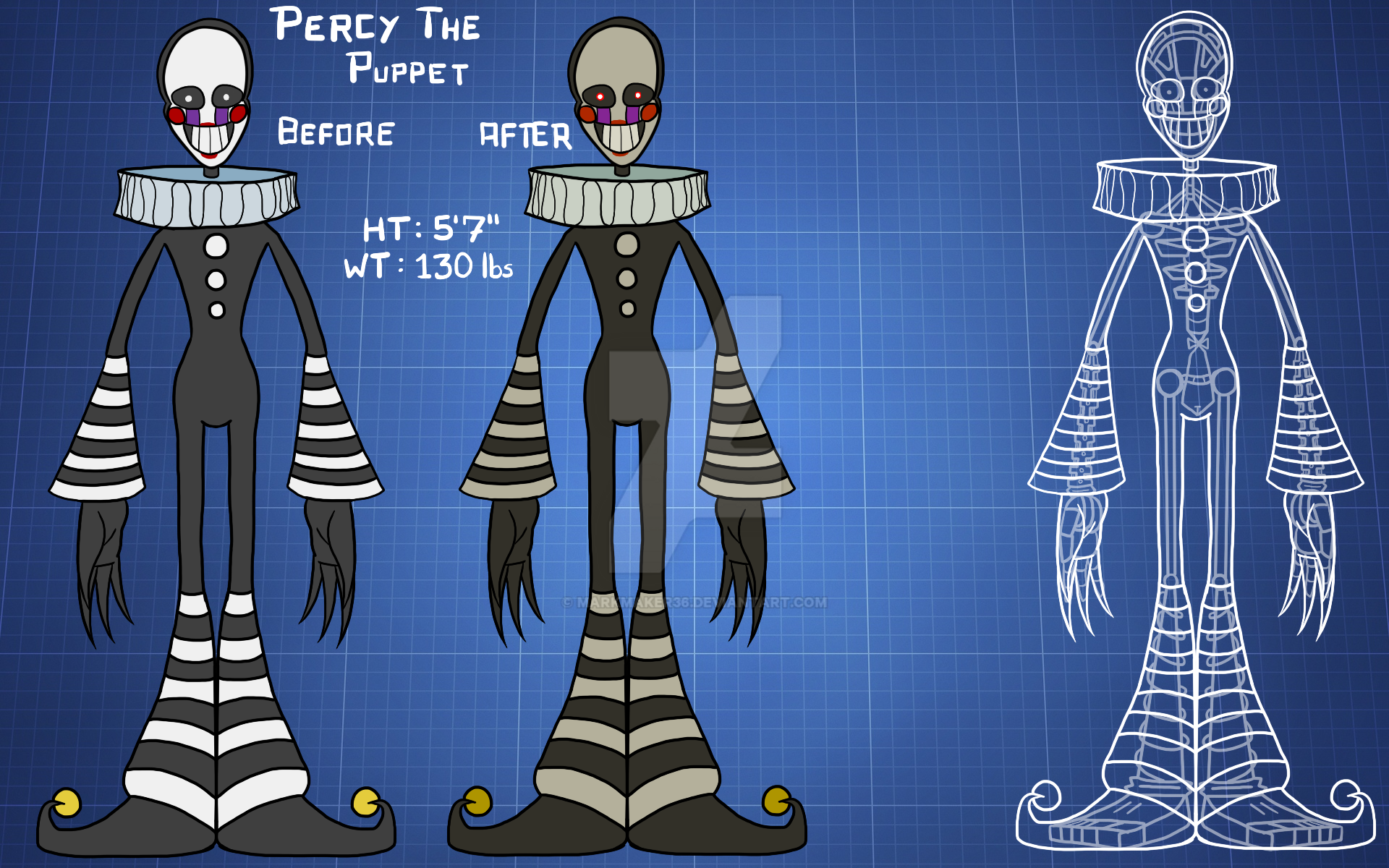 Percy Blueprints By Thejonwalter On Deviantart