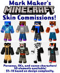 Minecraft Skin Commissions OPEN