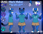 Mark Maker Fursona Ref Sheet (Base Used)