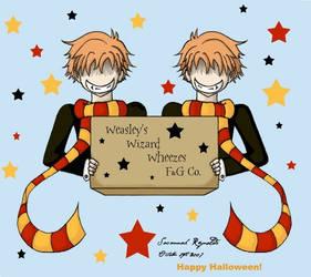 Hikaru-Kaoru--Weasley-Cosplay
