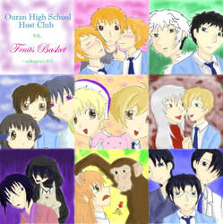 OHS-Host-Club-vs-Fruits-Basket by Ouran-Host-Club