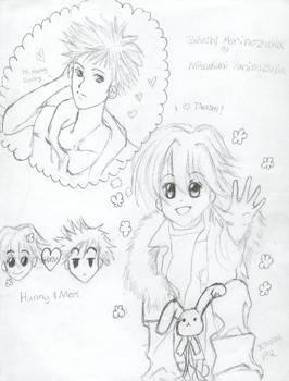 Hunny and Mori by Sukisyo