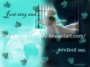 just stay and protect me by Ouran-Host-Club