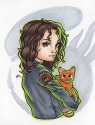 Ripley + Jonesy by artof-ravnbee