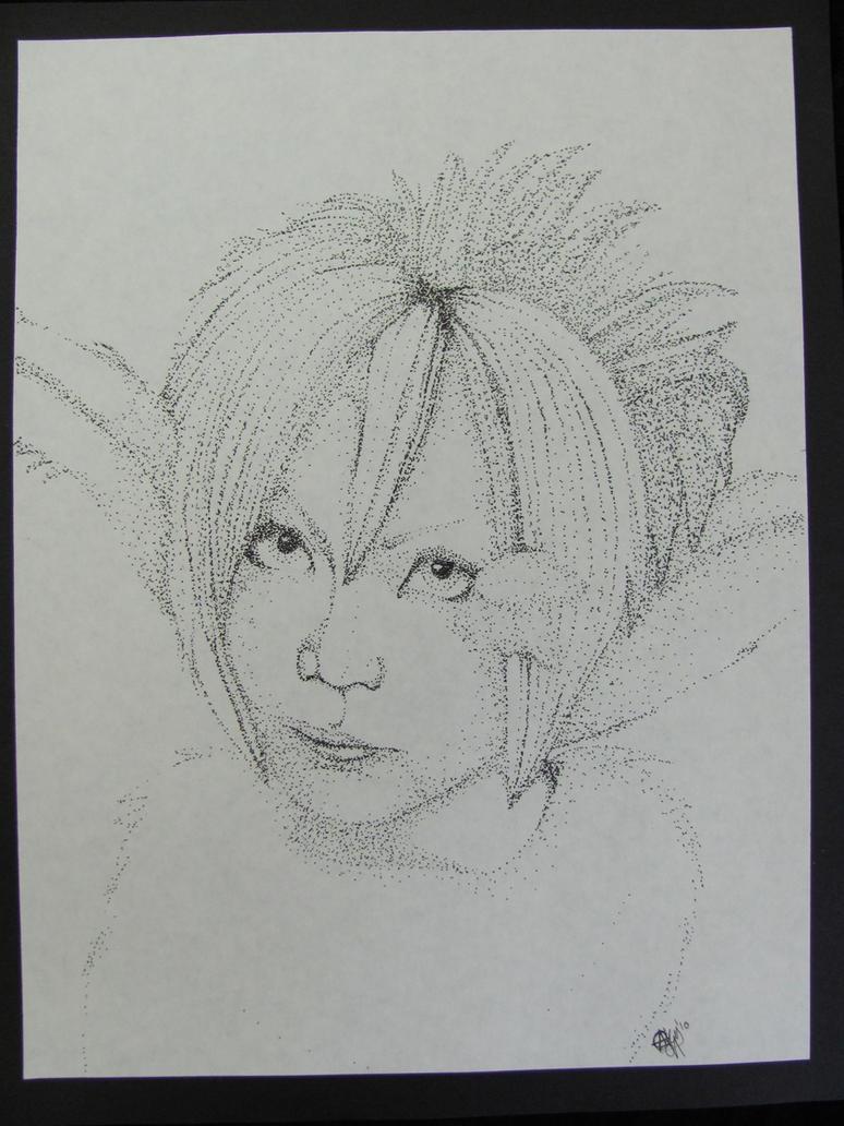 Stippled Yuki :Final: by ninja-like