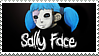 Sally Face stamp by TengokuNoYuki