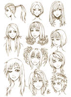 Female Hair Style by FullMeTalAof