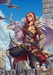 Solarius Gryphon Rider