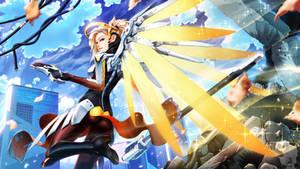 MERCY Angel of war by FullMeTalAof