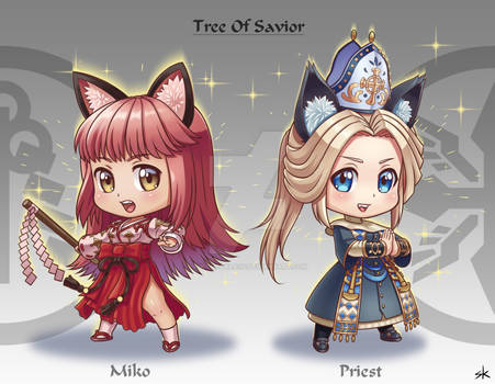Miko and Priest TOS