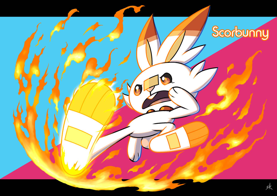 Scorbunny by FullMeTalAof
