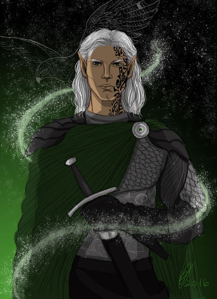 Rowan Whitethorn - The Prince of Doranelle by vivus1999